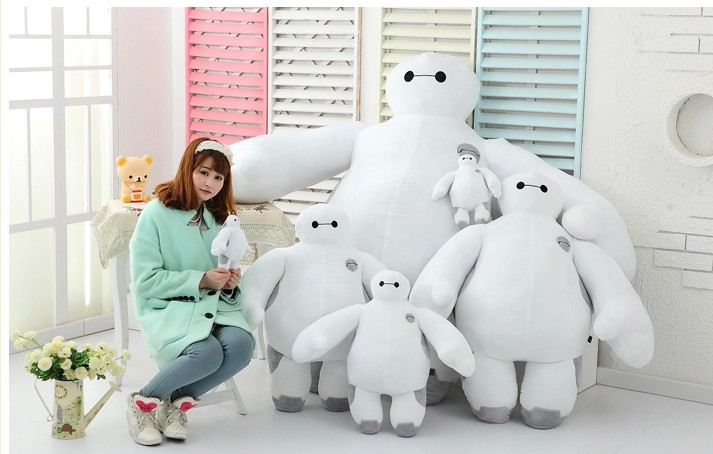 80cm The big hero 6 plush toys Baymax plush dolls Movies &amp; TV Toys &amp; Hobbies Child Baby Toys Gifts<br>