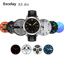 Excelay X5 Air Smart Watch Ram 2GB/Rom 16GB New MTK6580 wearable devices Bluetooth Watchphone Android 5.1 3G Smartwatch for IOS(China)