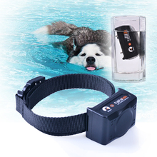 Rechargeable Waterpoof Blue Screen 500M Remote Pet Dog Training Collar Pet Dog No Bark Collar Pet Bark Stop Collar For 1 Dog(China)