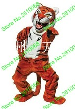 QIANYIDUOO Can be washed with water No deformation EVA Material Helmet Orange Tiger Mascot Costumes cartoon Apparel 402(China)