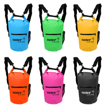 Outdoor Sports 10/20L PVC Waterproof Dry Bag Swim Rafting Kayaking Sailing Canoe Backpack for Camping Fishing Boat Accessories(China)