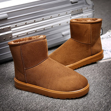 2017 Fashion Shoes Woman Ankle Boots for Women Winter Shoes High Snow Boots Brown Ug Boots Australia Botas Mujer Big Size 35-45(China)