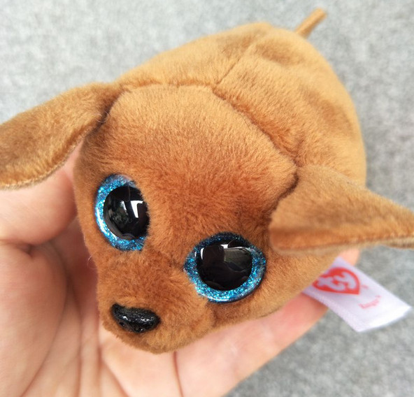 7e2a4c2dab8 TY Beanie Boo Plush Icy the Seal 9cm Original Ty Beanie Boos Big Eyes Plush  Toy Doll Purple Panda Baby Kids Gift-in Stuffed   Plush Animals from Toys  ...