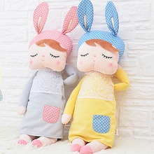 Cute Rabbit Dolls 35cm Baby Plush Toy Doll Sweet Stuffed Toys Dolls for Kids Girls Sleeping Doll Birthday/Christmas Gift(China)