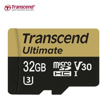 Brand Transcend  micro sd card 32GB 64GB UHS-I , MLC, TF memory card SDHC for DSLR GPS Drive recorder R:95MB/S W:85MB/S