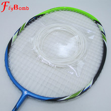 FlyBomb Badminton Line Good Quality Elastic Durable 0.7mm Use For Badminton Rackets Super Rebound Racquet Bulk 20-25lbs L464