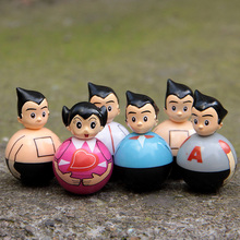 Astro Boy dolls tumbler vitality Ouendan Q Edition 5PCS/SET child action anime figure for kid collection 5CM