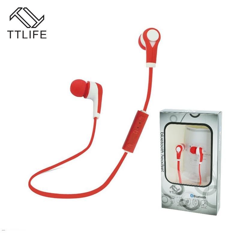 TTILFE New 2016 Wireless Earphones Sports Headset Earphone Bluetooth Headphone Audifonos with Microphone For xiaomi Smartphone<br><br>Aliexpress