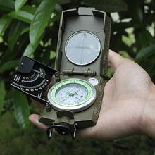 Professional Compass Military Army Geology Compass Sighting Luminous Compass for Outdoor Hiking Camping(China)