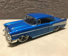 High simulation 1957 Chevrolet Bel air car model,1:32 alloy pull back retro cars,Diecast metal toy model,free shipping