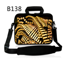 "Bullet Laptop Shoulder Bag Cover Case Pouch + Hide Handle For Samsung Galaxy Tab 2 10.1""/10.1"" Asus EEE Pad/ Acer Aspire One"