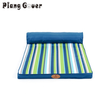 beauty sofa pet bed all four seasons can unpick and wash teddy large dog striped bed mattress kennel(China)