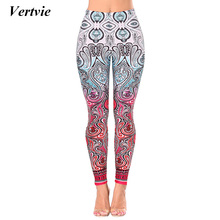 Buy Vertvie Yoga Pants Women Printed Pattern Sport Leggings Tights Female Breathable Runnign Fitness Gym Tights Sports Workout Pants for $7.99 in AliExpress store