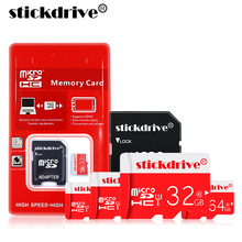 Real Capacity Flash Memory Card High Speed Micro SD 32 GB Class 10 16 GB 32 GB 64GB 128GB with OTG USB2.0 Card reader(China)