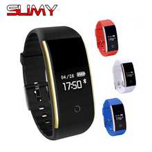 Buy Slimy S2 Bluetooth Smart Band Wristband Heart Rate Monitor OLED Smartband Fitness Calories Bracelet Android IOS Phone Stock for $19.89 in AliExpress store