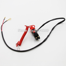 Tether Line Kill switch 43cc 47cc 49cc Mini PIT Pocket Rocket Quad Dirt Bike ATV Motorcycle 50cc 70cc 110cc 125cc new