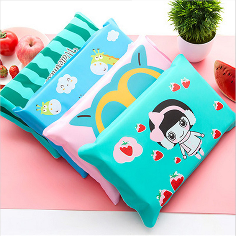 Cool Pillow Child Cute Cartoon Summer Large Water Pillow Summer Cooling Adult Nap Ice Pillow For Home Office And Cars MHK137(China)