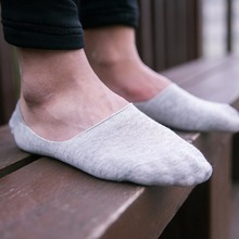 5 Pairs Loafer Socks Women Non-Slip New Fashion Cotton Invisible Socks Men Casual Dunk Low Cut No Show Socks Calcetines hombre