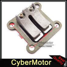 Reed Valve Block Plate For 2 Stroke 47cc 49cc Engine Pocket Bike Mini Moto Kids ATV Quad 4 Wheeler Dirt Bike Minimoto
