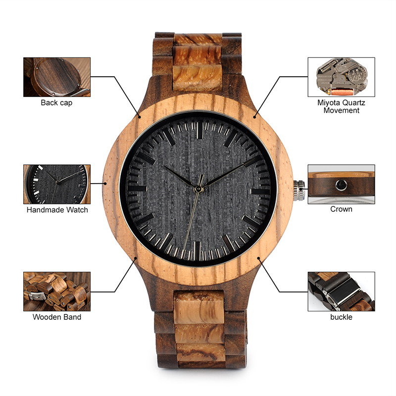 wooden wristwatches bobo bird fashion style gifts watch  (16)