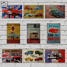 Retro Car CITROEN Vintage Poster Metal Tin Signs 20X30CM Iron Plate Wall Decor Plaque Club Pub Home Bar Shop Garage Wall Picture