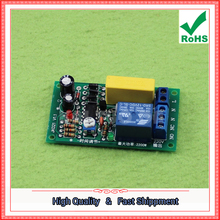 Free Shipping 2pcs 220V Relay Board Power On Delayed Disconnect Circuit Module Corridor Switch Staircase Light D1B4