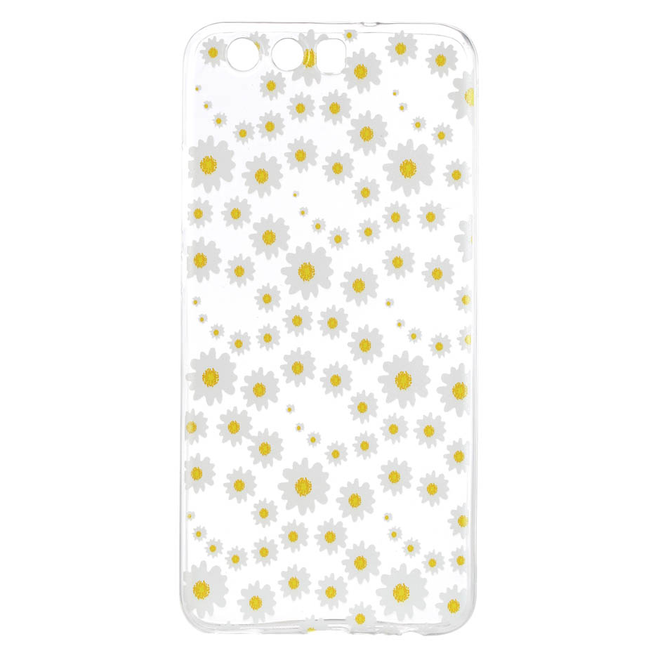 Desyner Phone case For Huawei P9 P10 Nova 2 Lite Plus Y5 Y6 II 2017 Honor 6A 6C 5C Lemon Pattern Transparent Soft Tpu Case
