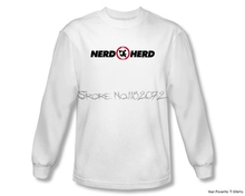Officially Licensed Warner Bros Chuck Nerd Herd Long Sleeve Shirt S-3XL(China)