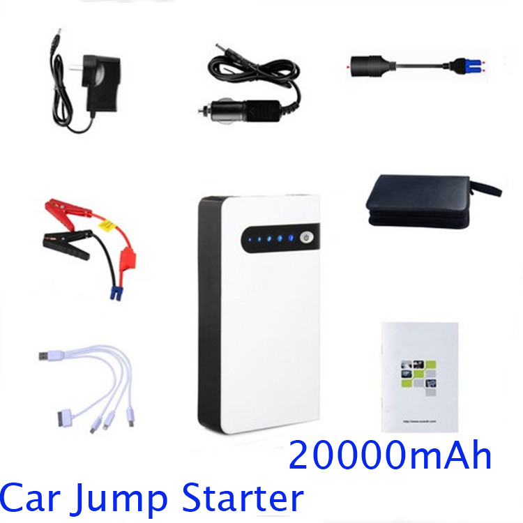 12V power bank Emergency battery charger 20000mah for Mobile Phone and car jump starter notebook computer ipad UPS Backup power<br>