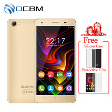 "In Stock Original Oukitel C5 3G WCDMA Mobile Phone MTK6580 Quad Core Android 7.0 5.0""HD 2GB RAM 16GB ROM 5.0MP OTA 2000mAh(China)"