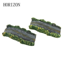 Fashion Home Decoration Artificial Asphalt Road Mini Figurine Fairy Garden Supplies Miniatures Cute Micro Landscape - Funny Decor Store store