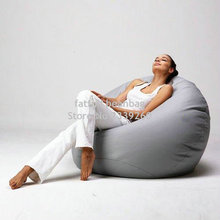 Cover only No Filler -Modern style living room chairs bean bag waterproof sofa set furniture(China)