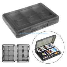 Game Card Case Holder Cartridge Storage Box For Nintendo DS 3DS 28-In-1#High Quality