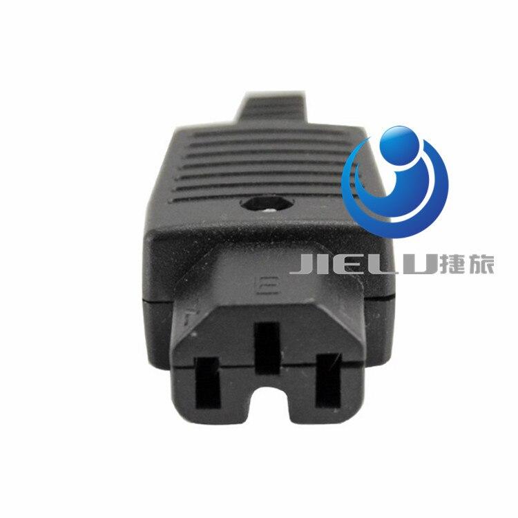 50 pcs Connector socket/ IEC 320 C14 AU AC Power Plug AC Socket Products Word plug<br>