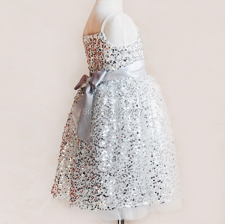 [Aamina] Sequins party dresses,new kids clothes for girls,wholesale baby boutique clothing 5 pcs/lot--425TD1101<br><br>Aliexpress