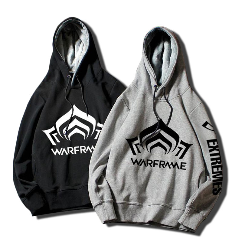 2019 Warframe High-Q Unisex hoodies winter hot sale luxury brand fashion hip hop casual game men women Pullovers clothing