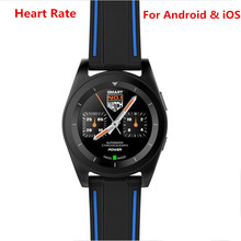 New Arrival NO.1 G6 Sport Bluetooth 4.0 Smart Watch MT2502 240*240 380mAh Running Smartwatch for ios Android Heart Rate Monitor(China)