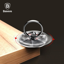 Baseus Finger Ring Holder For iPhone X 8 7 Gyro High Speed Rotation Phone Stand Holder For Samsung S8 Mobile Phone Ring Bracket(China)