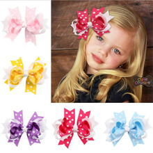 Lovely baby Hair Clip For Gift Children Infant Hand Craft Hairpin toddler girls headwear Kids accessories