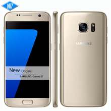 New Original Samsung Galaxy S7 Waterproof mobile phone 5.1 inch 4GB RAM 32GB ROM Octa Core NFC WIFI GPS 12MP 4G LTE smartphone