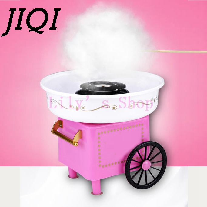 Electric DIY Sweet cotton candy maker mini portable candy Floss Spun Sugar machine girl boy kids gift 500w childrens day EU US<br>