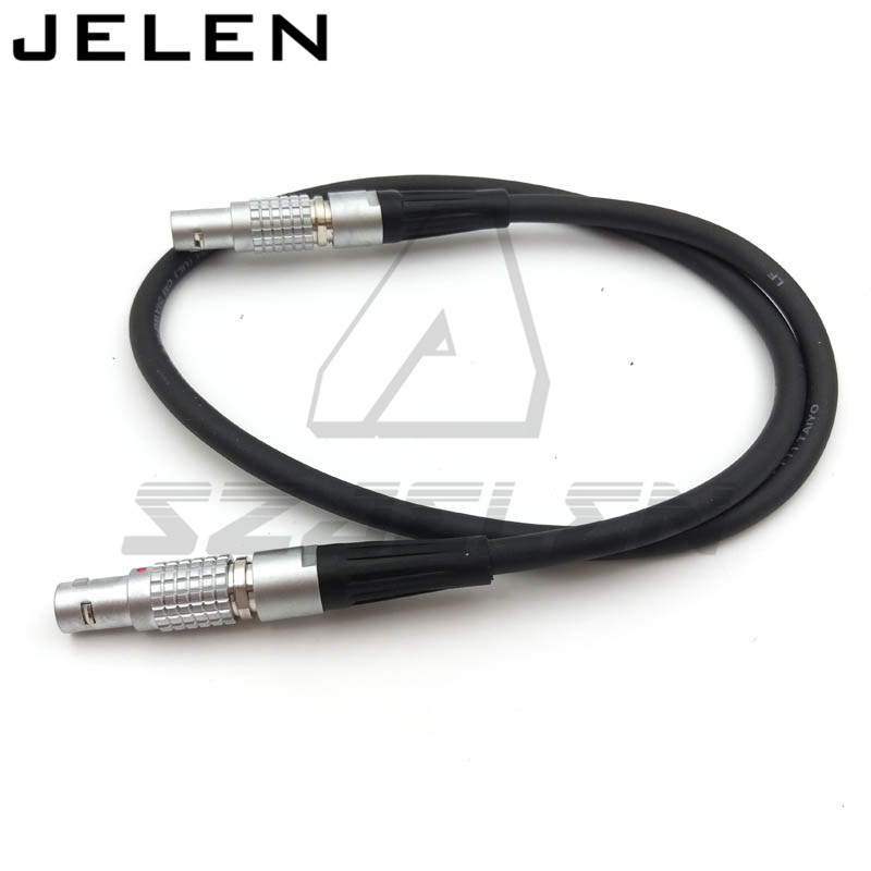lemo connector FGG.0B 2 Pin Male to 2 Pin male ARRI Alexa Camera Cable Power for Teradek Bond Wireless transmission power line<br>