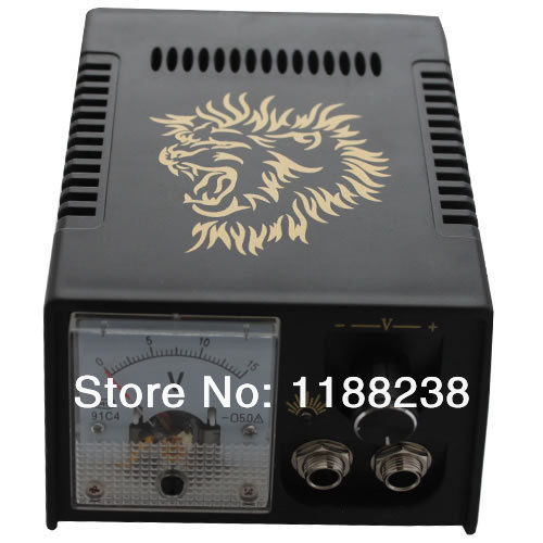 Professional Numerical POWER SUPPLY  LCD  Digital Power Supply for tattoo machine gun kit high quality free shipping<br>