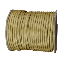 50yards/roll+3.5mm Wheat Korea Polyester Wax Cord Waxed Rope Thread+DIY Jewelry Accessories Bracelet Necklace Wire String(China)