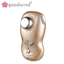 La goodwind CM-3 Ultrasonic, Galvanic & Ionic Eye-pouch Removal ABS and Stainless steel material beauty instrument for home use(China)