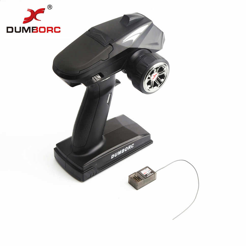 DumboRC X4 2.4G 4CH Transmitter with X6F Receiver for JJRC Q65 MN-90 Rc Vehicle Car Boat Tank Model Parts