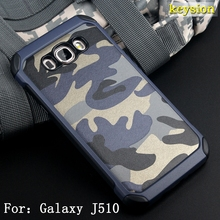 Anti-knock Hybrid 2 in 1 Combo Armor Impact Camouflage Military Pattern Phone cover Case For Samsung Galaxy J5(2016)  J510  J56