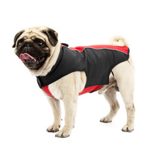 2017 New Warm Dog Clothes Pet Soft Shell Velvet Diving Fabric Coat Jacket Puppy Clothes for Dog Large Supplies 2 Colors(China)