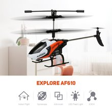 EBOYU(TM) FQ777-610 Explore 3.5CH RC Helicopter with Gyroscope RTF- Random Color