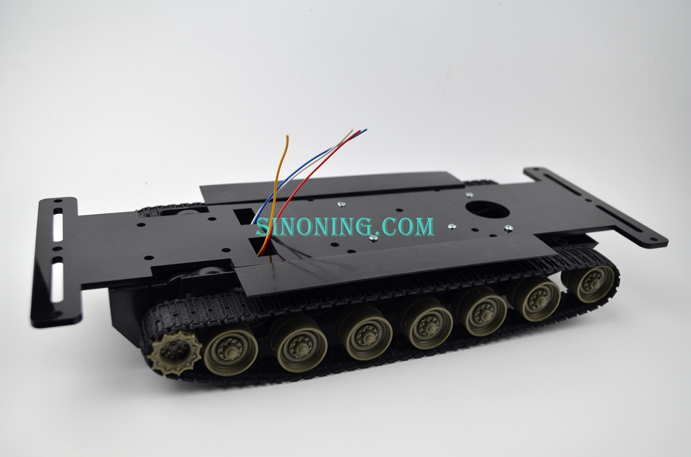 Smart Robot Tank Chassis kits diy robot chassis crawler tank with Acrylic plate for Arduino<br>